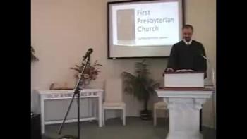 Sunday Worship Service, 11/14/2010. First Presbyterian Church, Perkasie. Orthodox Richard Scott MacLaren