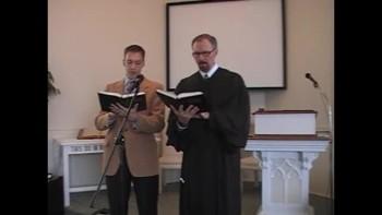 """Special Music: """"I'm Redeemed!"""" First Presbyterian Church, Perkasie. Richard Scott MacLaren"""