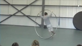 Cyr Wheel Dance