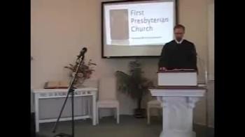 Sunday Worship Service, 11/21/2010 First Presbyterian Church Perkasie PA Richard Scott MacLaren