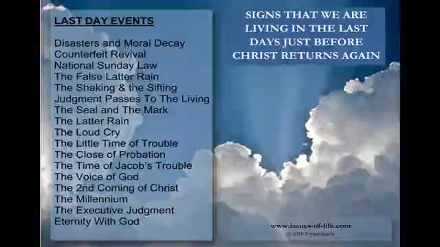 THE SECOND COMING OF CHRIST - Signs That It Will Be Very Soon - Part 2 of 2  - Inspirational Videos