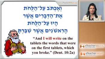 Hebrew Lesson 24 - Yi