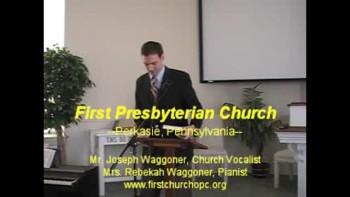 Thanksgiving Service, Pt. 2; 11/28/2010, First Presbyterian Church Perkasie, Orthodox