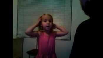 cute 4 year old sings and preaches