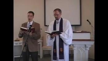 """Hymn: """"Lift Up Your Heads,"""" First Presbyterian Church Perkasie MacLaren"""