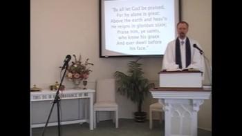 Sunday Worship Service, Pt. 3. 12/05/2010 First Presbyterian Church Perkasie MacLaren