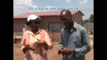 Woman healed of Breast Cancer