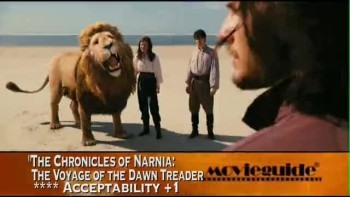 THE CHRONICLES OF NARNIA: THE VOYAGE OF THE DAWN TREADER review
