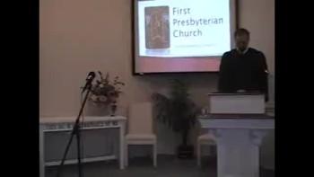 Sunday Worship Service, 12/12/2010. First Presbyterian Church Perkasie Orthodox MacLaren rsmac12
