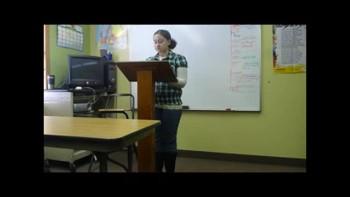 Emily's Persuasive Speech