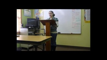 Emily's Persuasive Speech Part 2