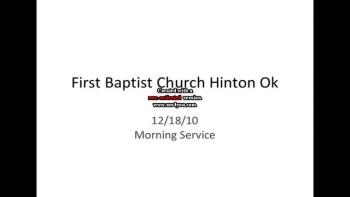 First Baptist Church Hinton Ok