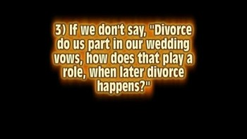 Till Divorce Do Us Part 1