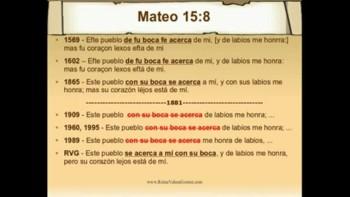 La Biblia - Clase 1