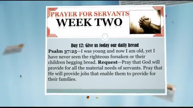40 Days of Prayer and Fasting - Ministry Videos