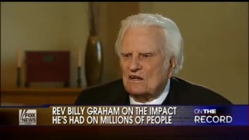 Rev. Billy Graham Talks About Life, Faith and More