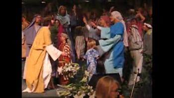 Daniel Jumps into Jesus' Arms