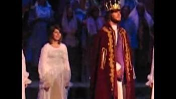 Angel Moriah puts cape on Jesus