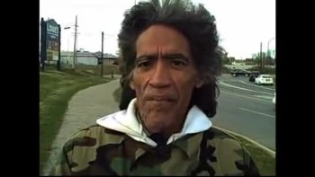 Homeless man w/ golden radio voice in Columbus, OH