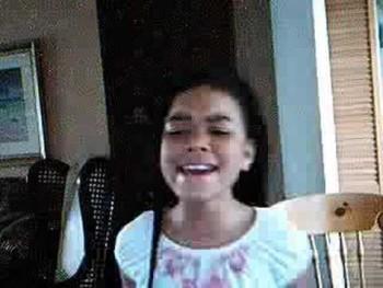 Nia, age 9, singing yolanda adams
