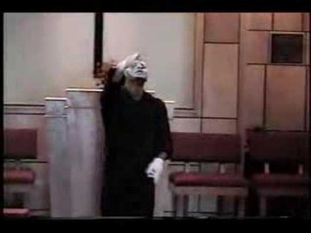 """Gospel mime """"Nothing Without You"""" Lance Love"""