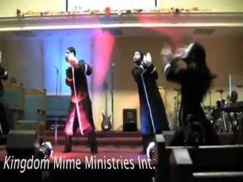 """gospel mime by lance love """"all things are working for me"""""""