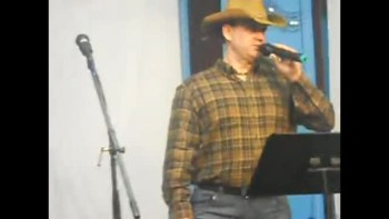"Me singing ""Three Wooden Crosses"" (cover)"