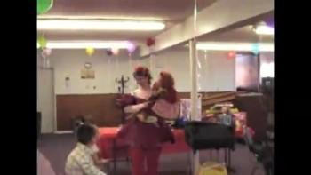 Ribbons the ventriloquist & Niki