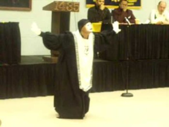 """I Never Lost My Praise"" Gospel Mime"