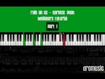 Rain On Us Earnest Pugh (Part 1) Piano Tutorial