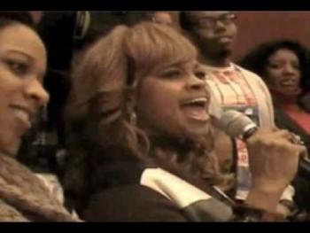 Karen Clark-Sheard sings The National Anthem
