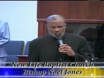 Bishop Noel Jones at Power Plus 2009 @ New Life Baptist Church in the British Virgin Islands Pt.1