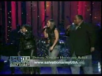 Alicia Keys, Shirley Caesar,Alvin Slaughter & Bishop Daniels