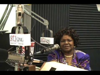 Tony Smith with Shirley Caesar