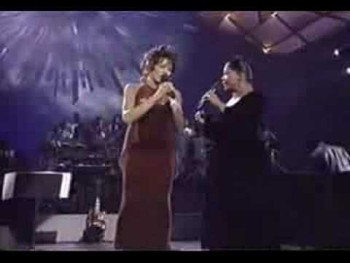 Whitney Houston CeCe Winans and Shirley Caesar Gospel Medley