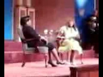 Lexi & Shirley Caesar @ Faith Miracle Temple - worshipping b4 interview