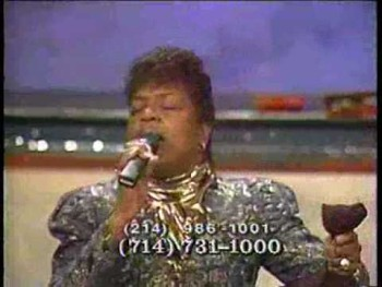 Shirley Caesar and Terry McMillan (Amazing Grace)