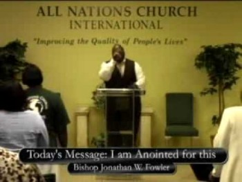 Pastor Jonathan Fowler I AM ANOINTED FOR THIS!