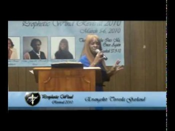 The 2010 Prophetic Wind Revival Night One