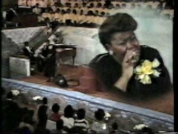 Lecresia Campbell @ Greater St Stephen Mass Choir Musical 10 25 1987 pt1