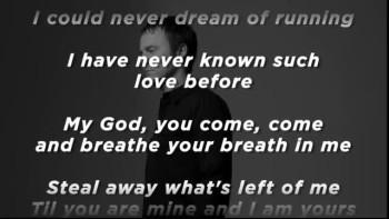 Bebo Norman - Never Saw You Coming (Slideshow With Lyrics)
