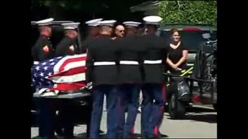 Christian Veterans Protect a Soldiers Funeral