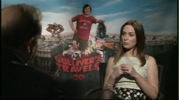 GULLIVER'S TRAVELS - Emily Blunt Interview