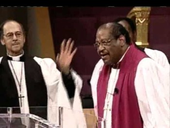 """Bishop GE Patterson """"There's Power in the Blood"""" Pt. 2"""
