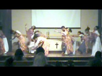 "Ordered Steps Productions: ""Rain On Us"" Praise Dance."