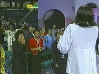 Juanita Bynum Preaching at Megafest