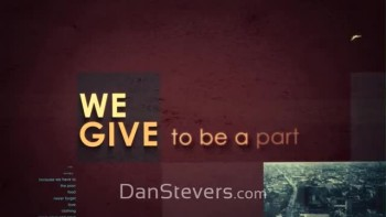 Dan Stevers - We Give