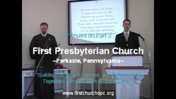 Sunday Worship Svc. 1/16/2011. Part 1.