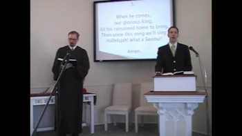 Sunday Worship Svc, 1/16/2011 Pt. 2