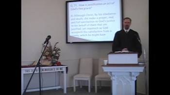 """Catechism: """"Justified by Free Grace!"""""""
